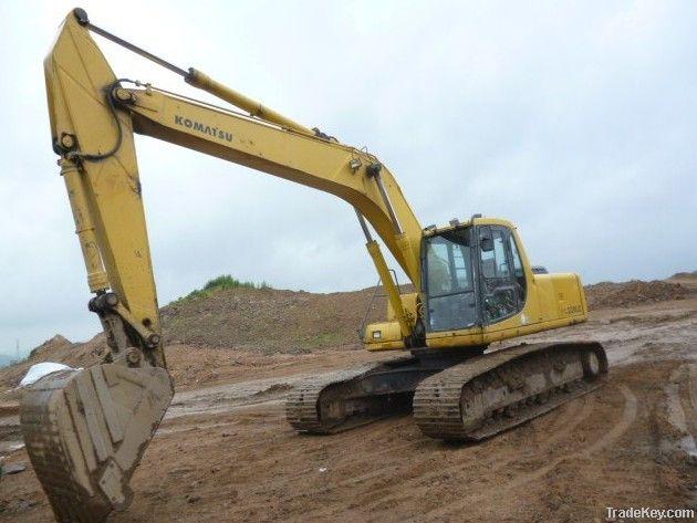 Used Komatsu PC200-6 Excavator, Good Price