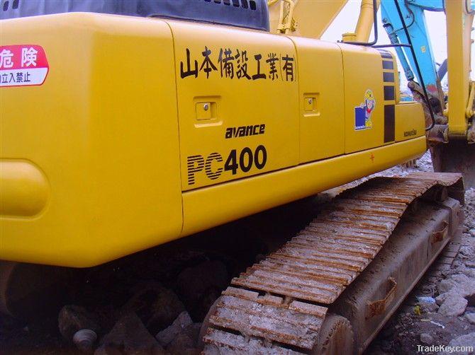 Second hand komatsu PC400-6 Excavator