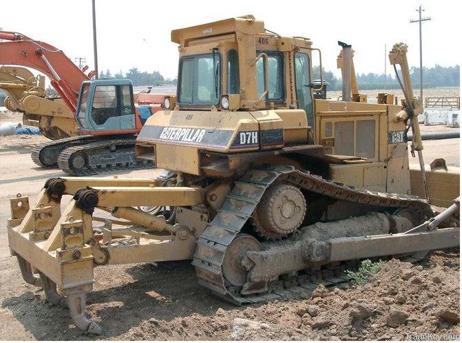 Second hand Caterpillar Crawler Buldozer D7H