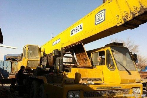 Second hand Crane, Tadano QY50A