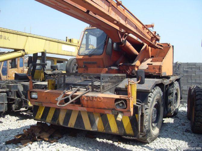 Used KATO Rough Terrain Crane, KR-25H