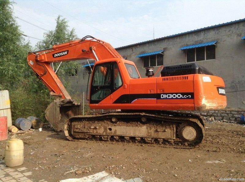 Used Doosan DH300LC-7 Excavator
