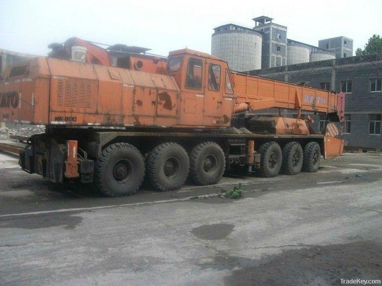 Used KATO NK800 Crane 80tons Crane
