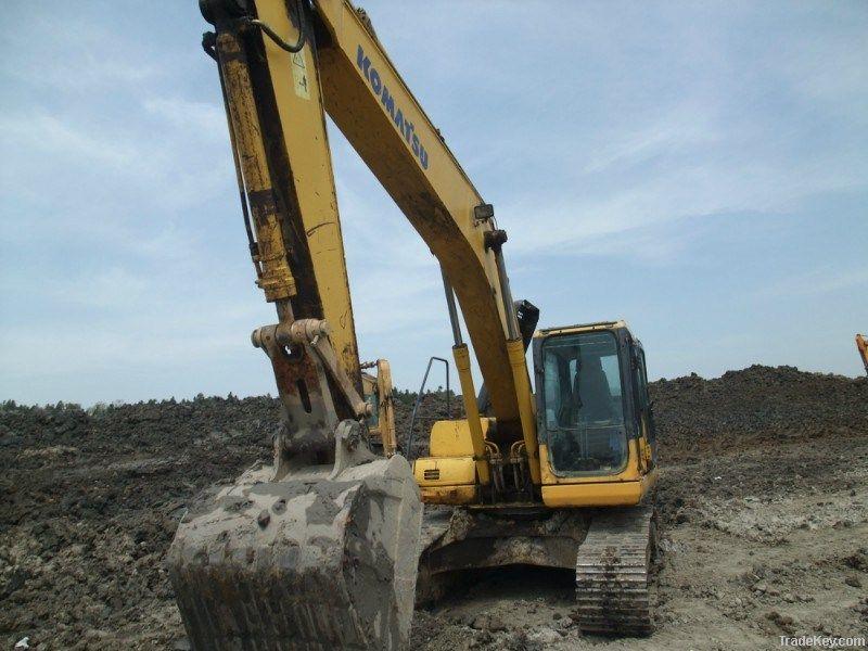 Used Excavator Komatsu PC200-7