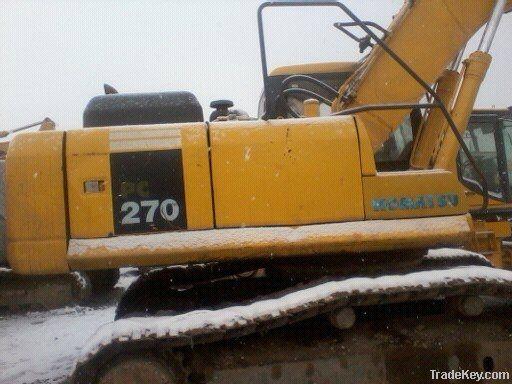 Used Komatsu PC270-7 Excavator
