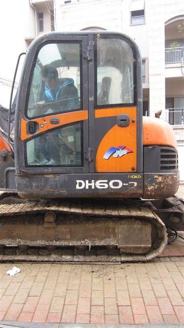 Used Doosan Mini Excavator DH60-7