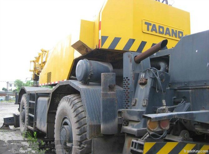 Used Japan Rough Terrain Crane Tadano