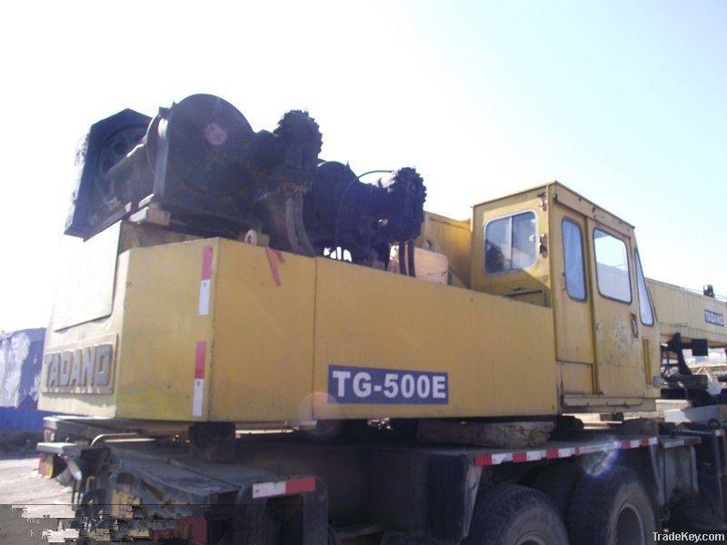 Used Tadano Crane Original Japan TG500E