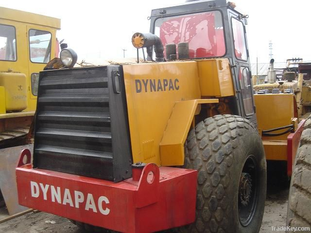 Used Dynapac Roller with Padfoot CA30D