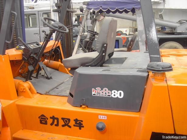 Used China Cheap Forklift Heli 8tons
