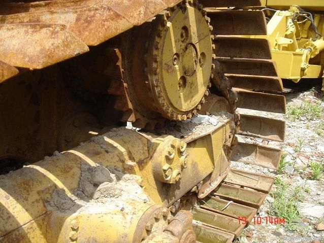 Used CAT D6H Bulldozer , Made in Japan