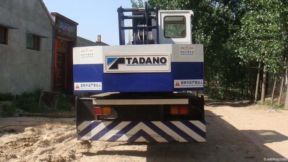 Used Crane Tadano TL250E Crane, 25tons Crane