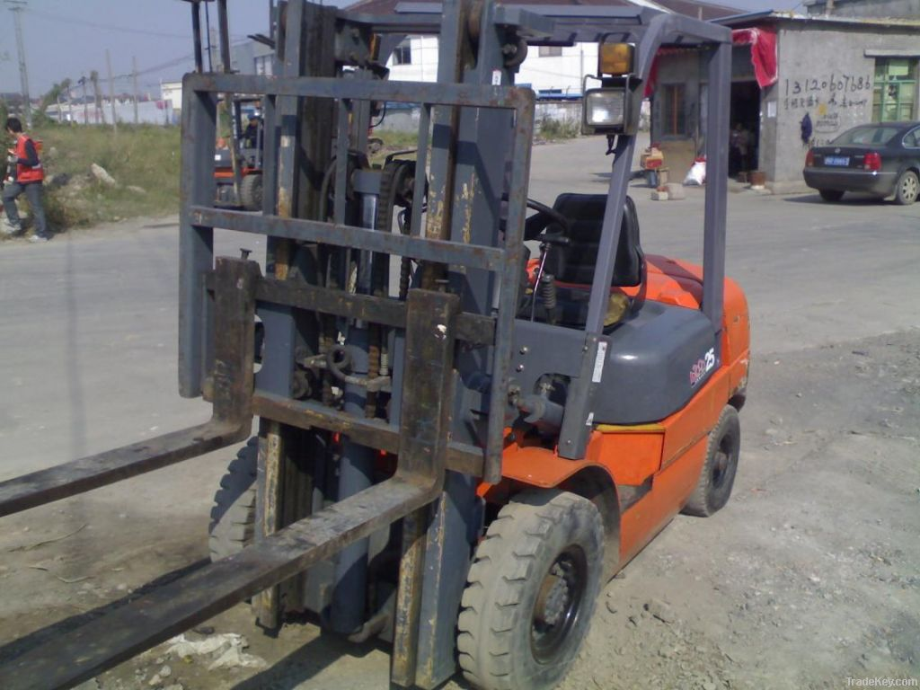 Used Cheap Forklift, Heli 2.5tons Forklift