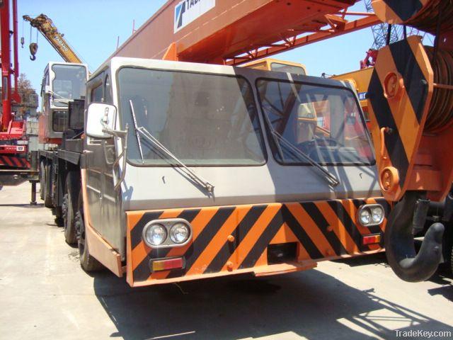 Used Tadano TG500E Crane, Japan Tadano Crane