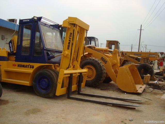 Used Komatsu Forklift, Komatsu FD100 Forklift, Used Forklift 10t