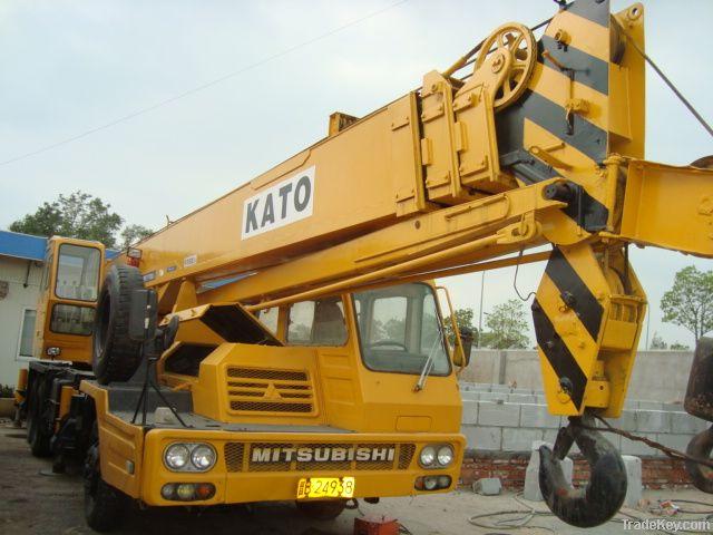 Used Full Hydraulic Truck Crane, KATO NK250E