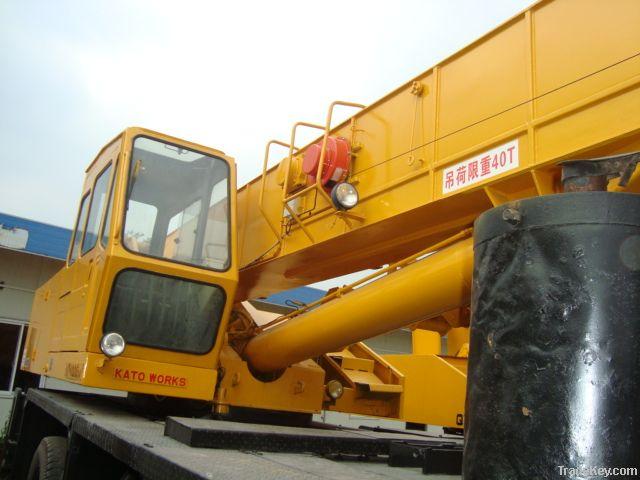 Used KATO Crane NK400E