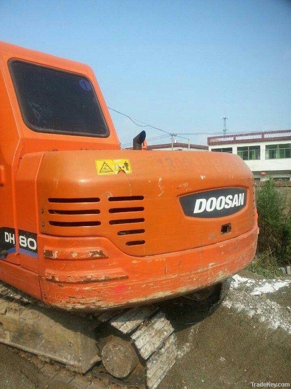 Used Doosan DH80 Excavator, Doosan DH55, 60, 130, 150, 220, 225