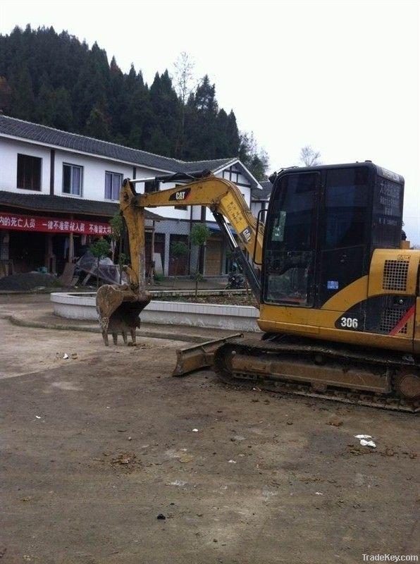 Used Mini CAT 306 Excavator, Excellent Condition