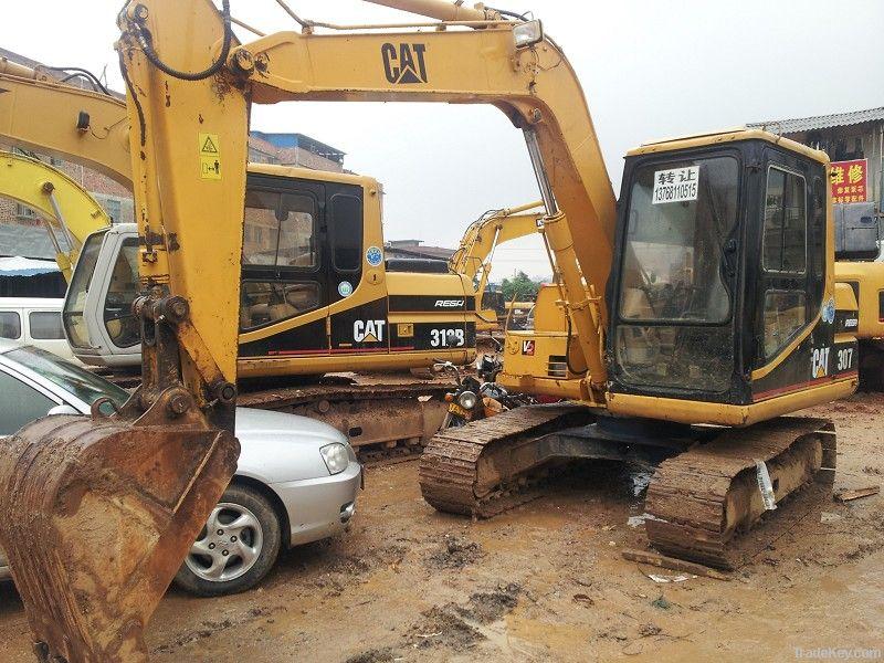 Used Mini CAT Excavator, CAT307