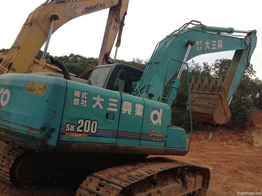 Used Kobelco SK200 Excavator, Kobelco Excavator 200