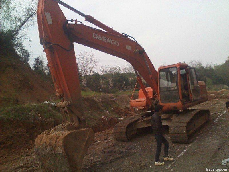 Used Daewoo Excavator DH220LC-V