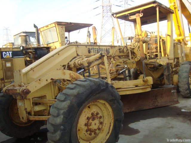 Used caterpillar 120g Motor Grader for sale