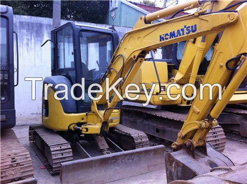 Used mini excavator, komatsu mini excavator pc35