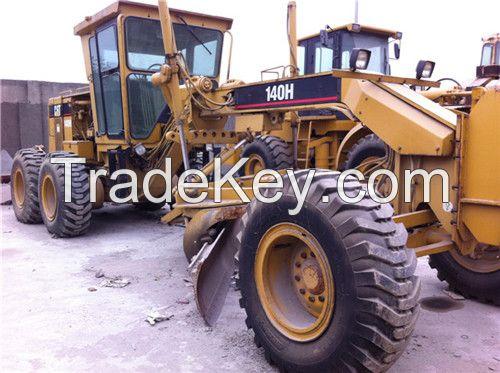 used cat 140h motor grader, used cat 140h grader