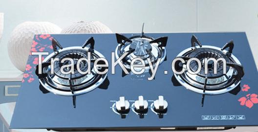 gas stove and hood