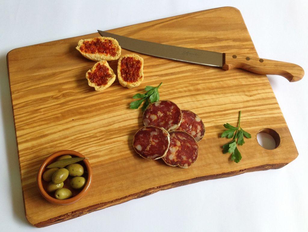 Olive wood cutting board