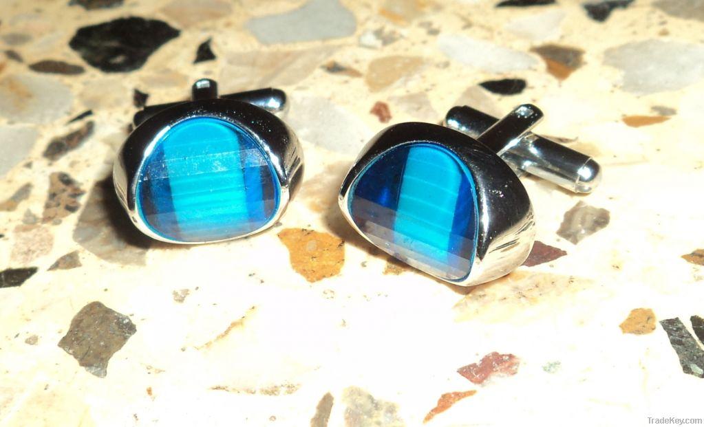 Blue Sea Cufflink