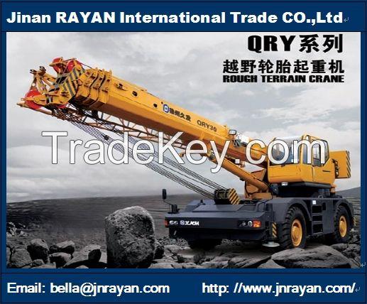 Rough terrain crane 25t
