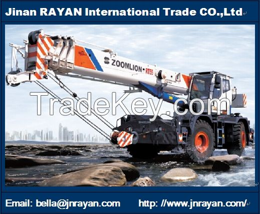 Rough terrain crane 35t