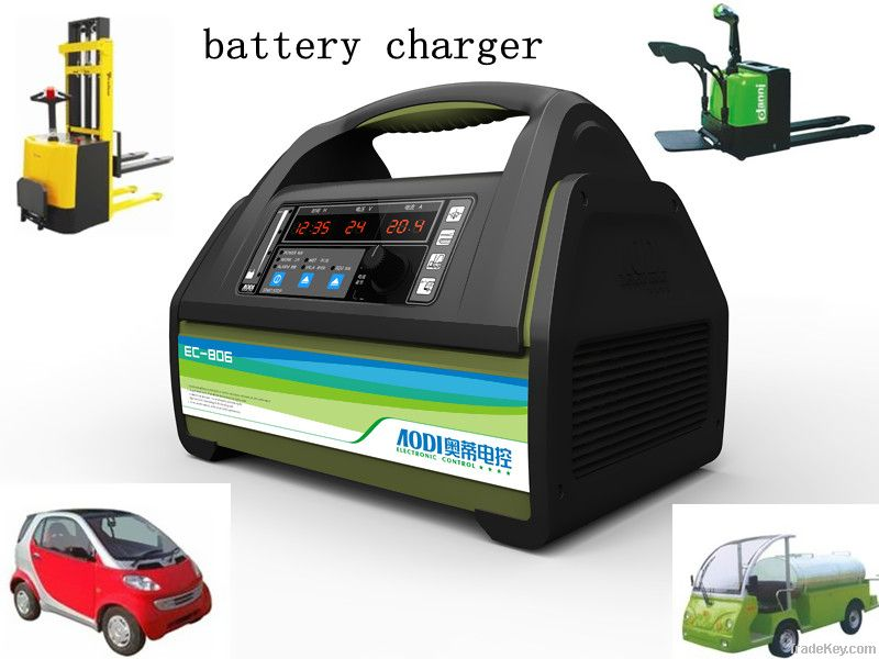 Electric car battery chargers 12V 24V (10A 20A 25A 30A 40A 50A)