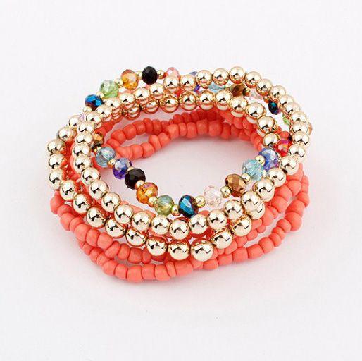Colored bracelet
