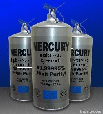 Pure Silver Liquide Mercurial