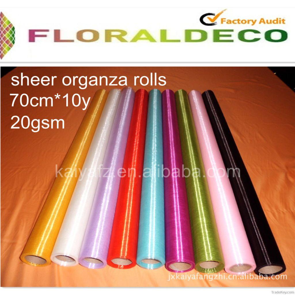 Crystal Sheer Organza Roll