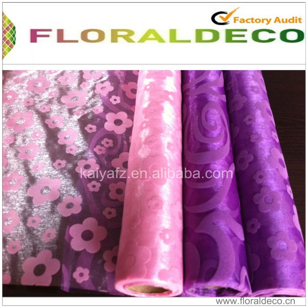 Flocking Organza Roll