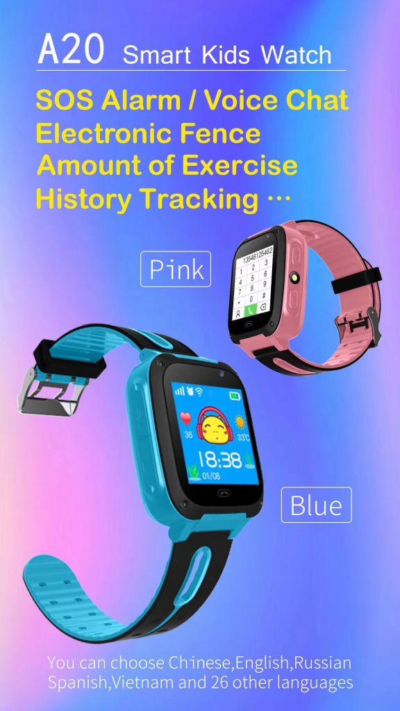 high quality children waterproof SIM card gps smart kid watch reloj gps kids smartwatch