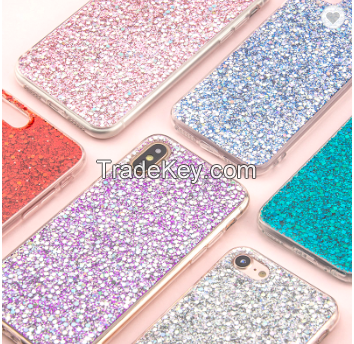 Luxury Crystal Shining Glitter Mobile Phone Casing