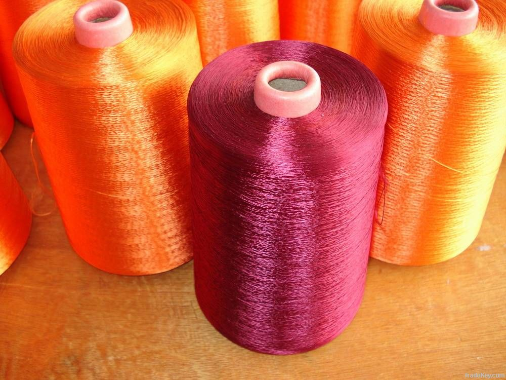 Viscose Rayon/Polyester Filament Embroidery Thread