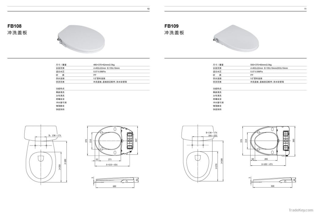 sanitary ware products bidets