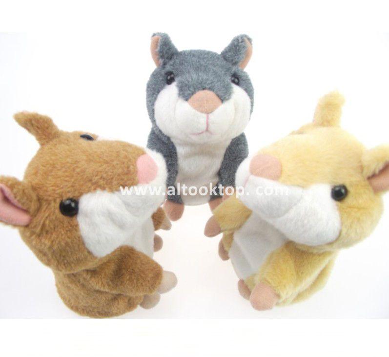 Talking Hamster animal repeat Pet Talking Plush Toy Novelty Christmas