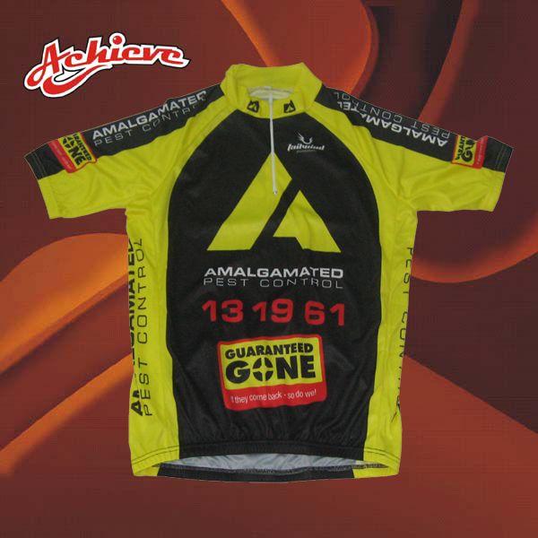 Sublimation Custom Design Cycling Shirt
