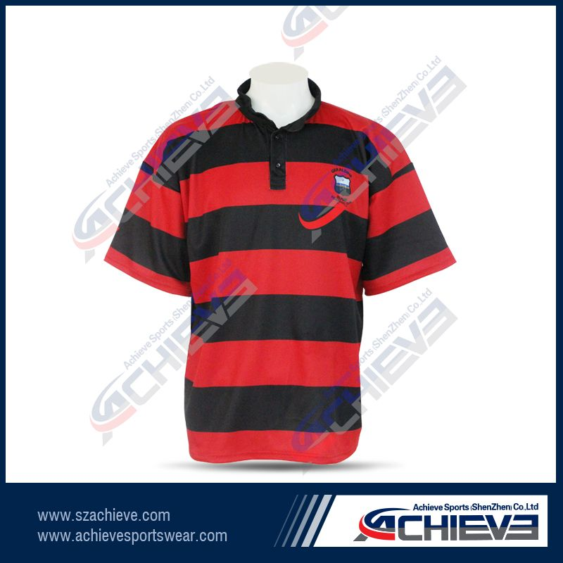 new design sublimation rugby jersey