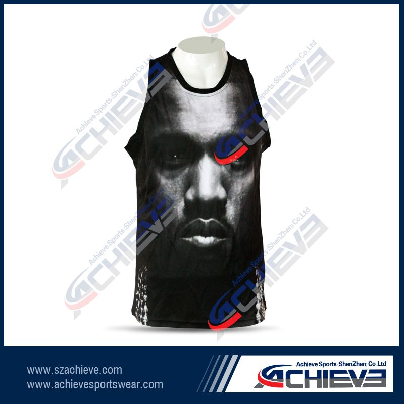 Custom sublimation reversible Basketball Uniform