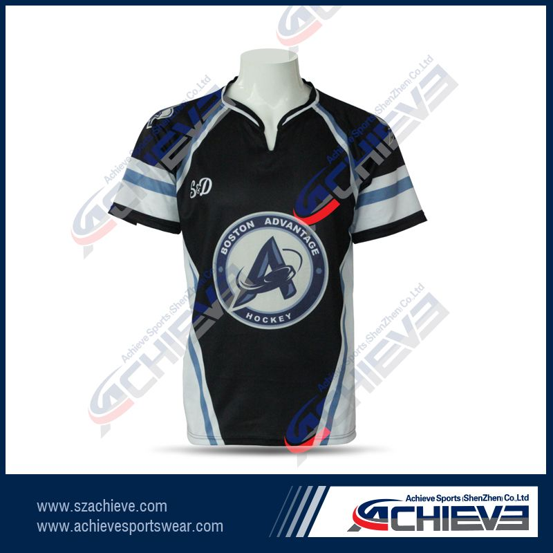 Quick dry sublimation rugby uniforms