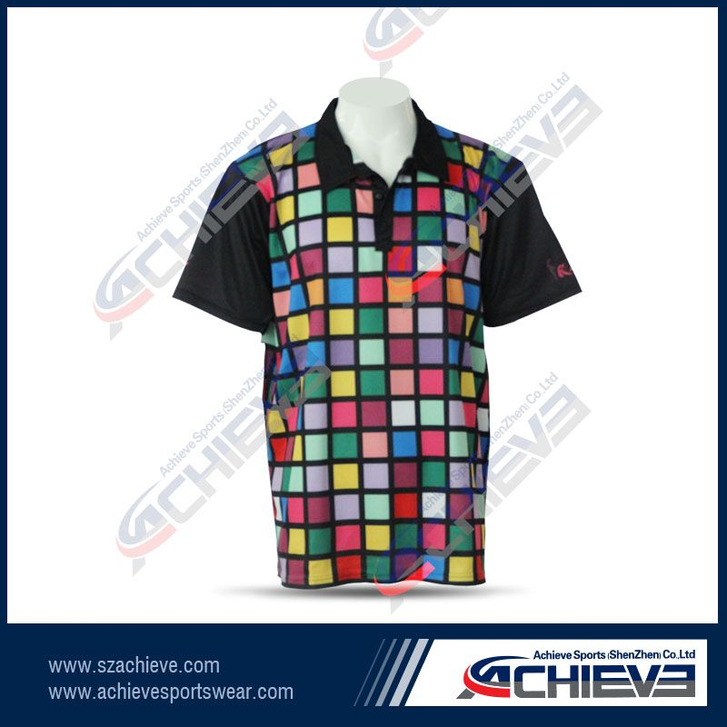 100% polyester heat sublimation t-shirt for men