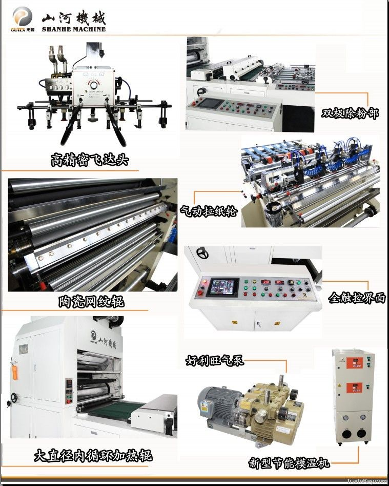 Full-Automatic Flute Laminating Machine